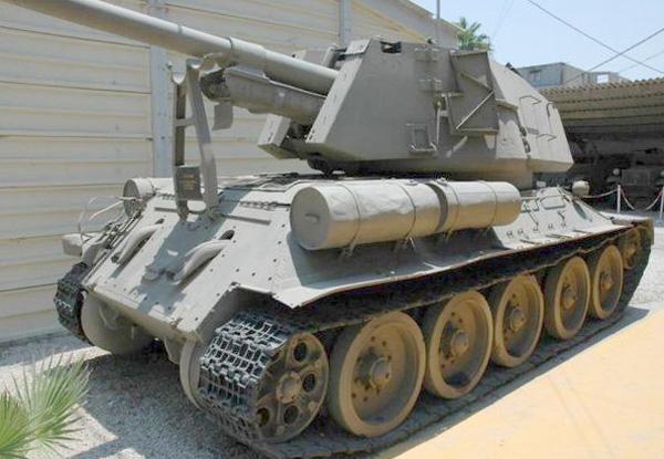 Allahakbarturret 10 T 34 122 Gun Turret Pillbox Port