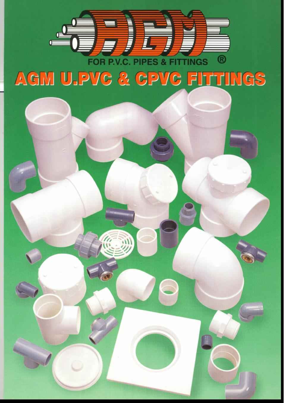 A r corporation agm pipe and fittings catalogue
