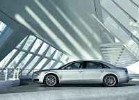 Audi A8 L side view  HD Wallpaper