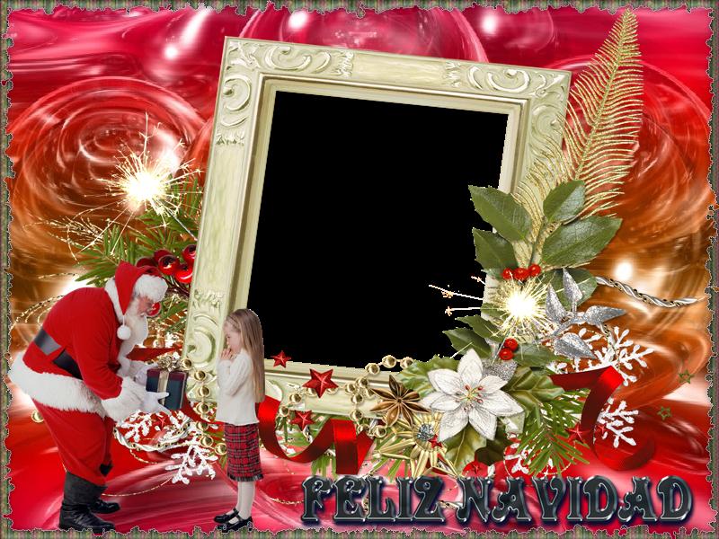 Marcos Navidad Fotos. Marcos De Fotos Navidad. Cuadro Navidad. Image ...