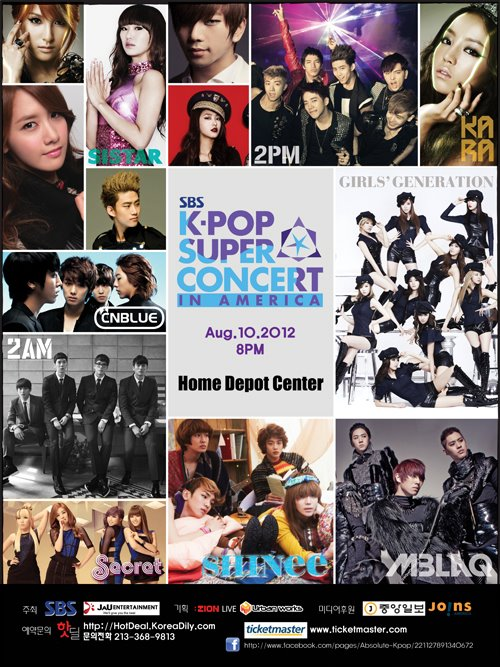 KPop Fantasy Concert Live in Manila, Philippines on January 19, 2012