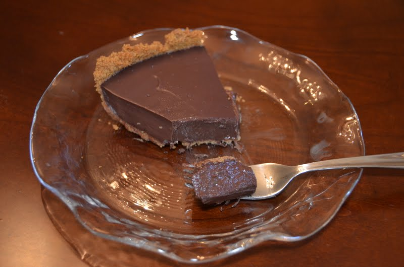 Playing with Flour: Lighter chocolate pudding pie