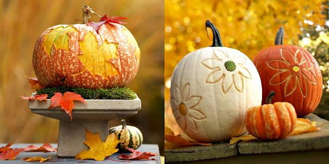 Pop culture and fashion magic halloween pumpkins carving