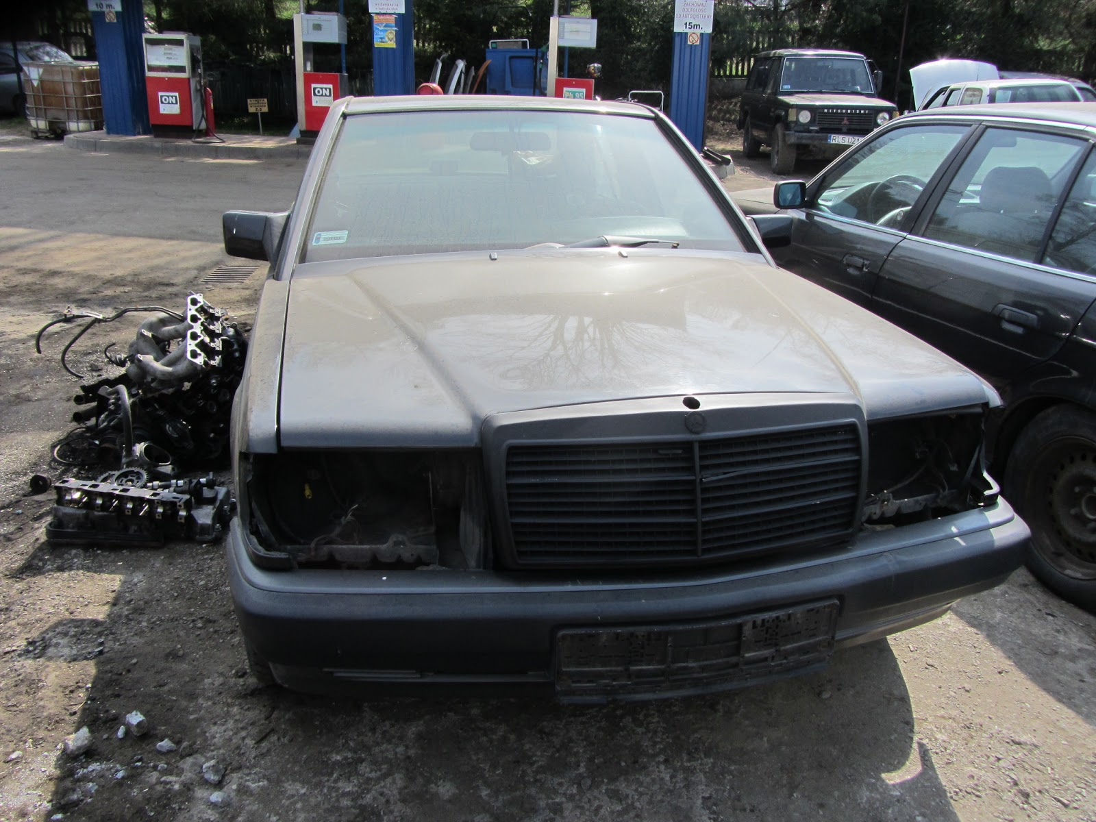Firma Quot Kraft Quot Auto ZŁom Mercedes