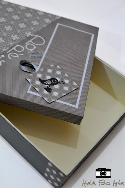 Caixa de papéis