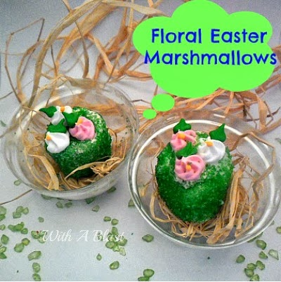 Floral Easter Marshmallows