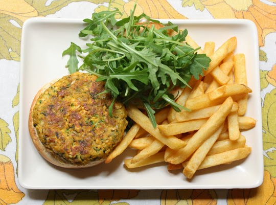 vegetarian burger tofu