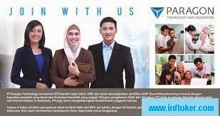 Info Lowongan Kerja Dibuka PT Paragon Technology Innovation (PTI)
