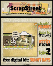 Scrapstreet Mini Mag August 2012