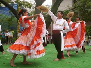 danzantes Bambuco