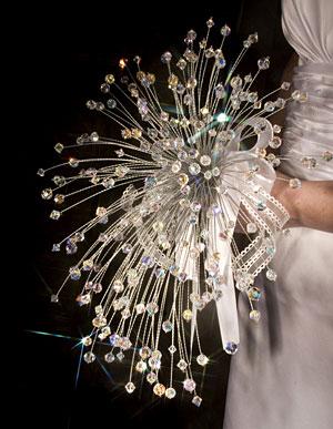 prepare wedding dresses building a custom swarovski crystal wedding bouquet. Black Bedroom Furniture Sets. Home Design Ideas