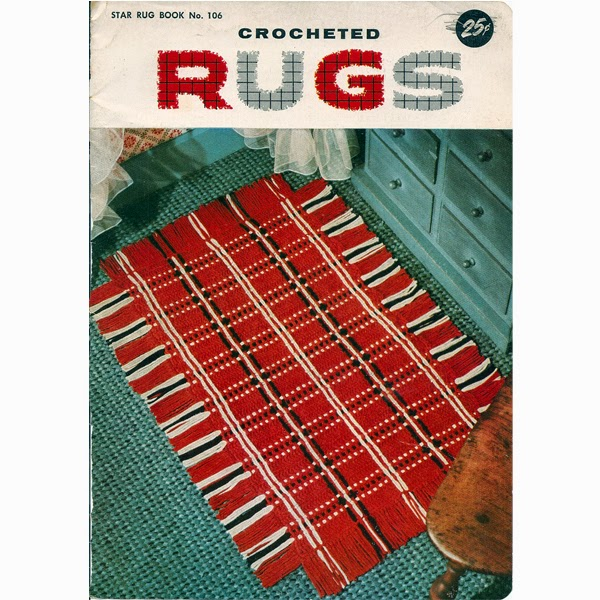 Vintage Striped Woven Crochet Rug Pattern