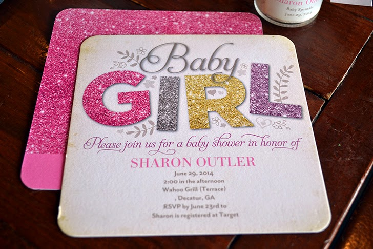 All Things Glitter invitation