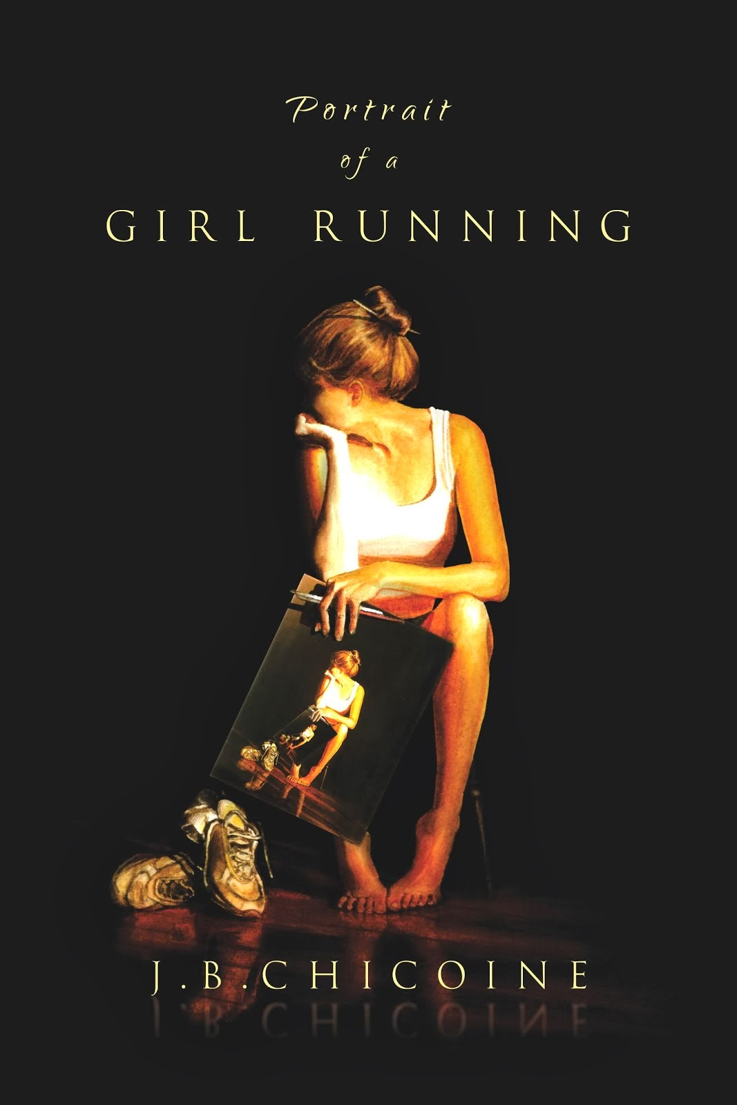 Portrait of a Girl Running