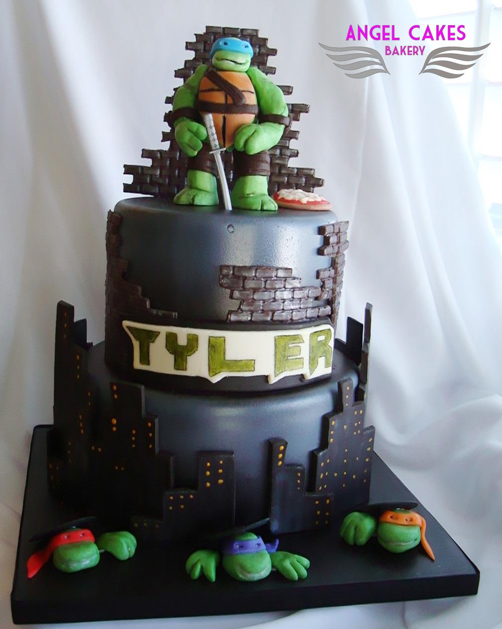 Angel Cakes Bakery Teenage Mutant Ninja Turtles