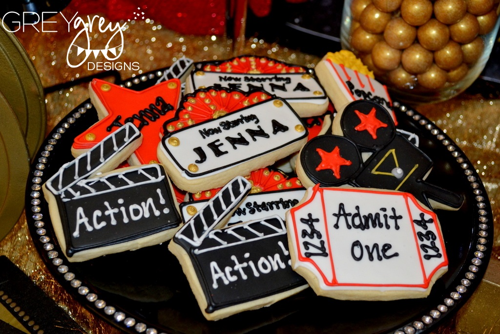 Hollywood Craft Ideas For Kids Part - 31: GreyGrey Designs: {My Parties} Jennau0027s Red Carpet Hollywood Birthday Party