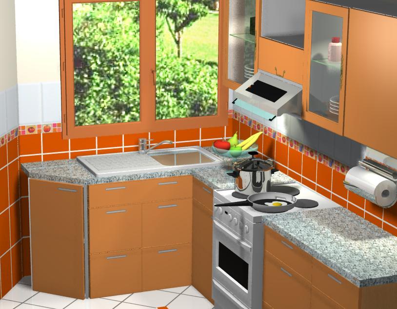 Hugo ceramicas y representaciones sac cocina peque a en - Ceramica de cocina ...