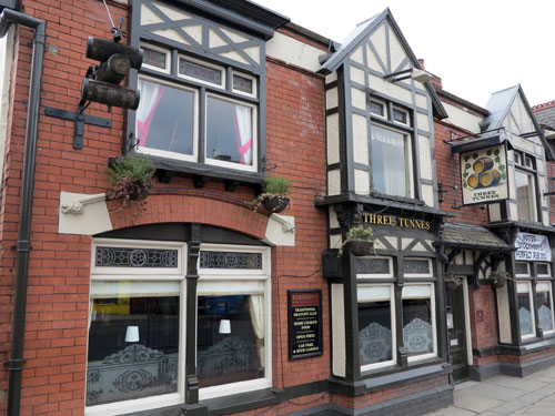 Three Tunnes Pub Hazel Grove Stockport UK