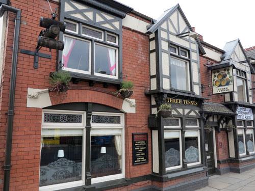 Three Tunnes Pub Hazel Grove Stockport UK