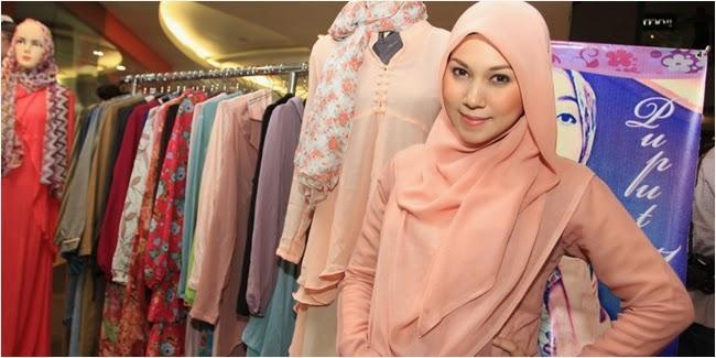 Cara Memakai Jilbab Pashmina Sifon Panjang