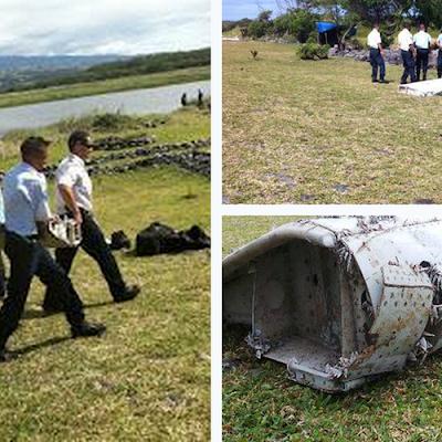 Serpihan bangkai pesawat MH370 telah dijumpai