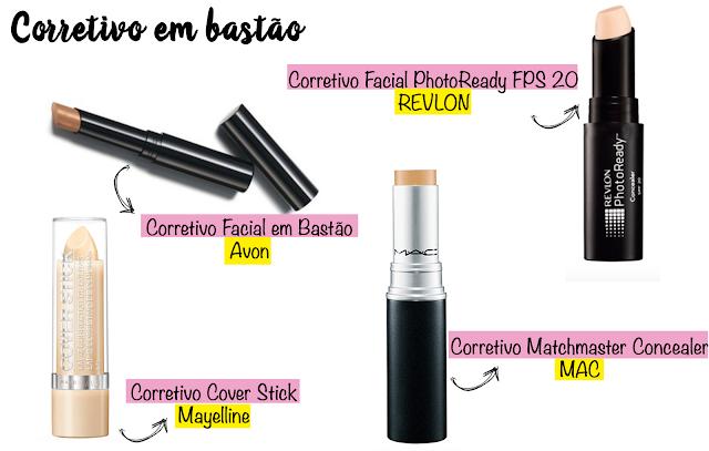 Qual corretivo usar? Líquido, cremoso, em lápis ou em bastão?
