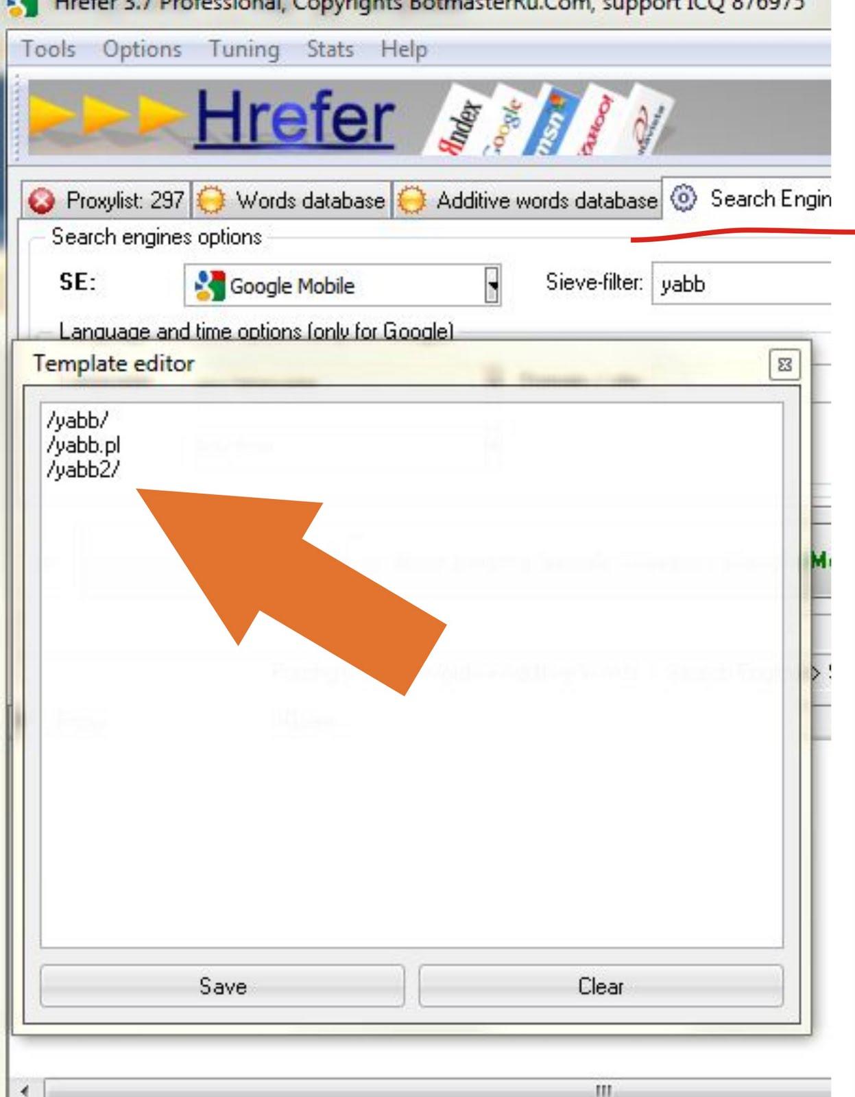 Xrumer 7.08 мод продвижение web-сайта в internet explorer