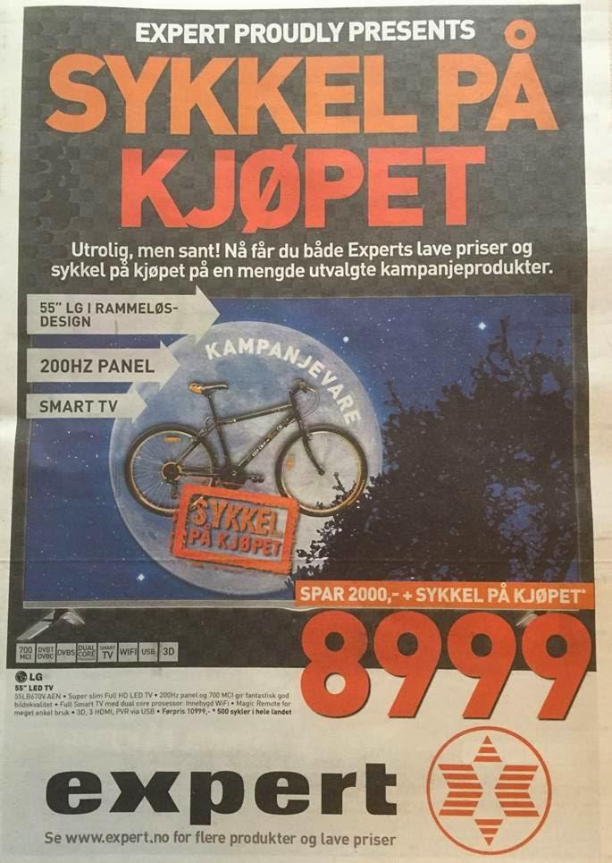 Expert sykkel montering