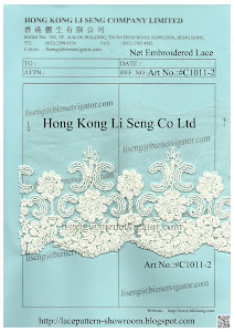 Net Embroidered Lace Trims Manufacturer - Hong Kong Li Seng Co Ltd