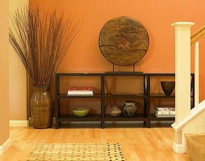 Wall colors entryway ideas decor ideas zen room for Oriental colour palette