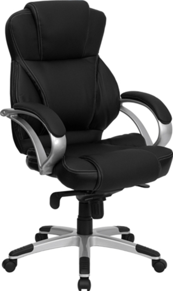 High Back Leather Contemporary Office Chair by Flash Furniture
