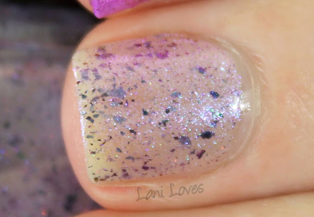 Femme Fatale Cosmetics Liquid Pearl nail polish Swatches & Review