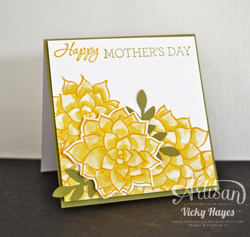 It's easy to fussy cut using Stampin' Up's sharp paper snips