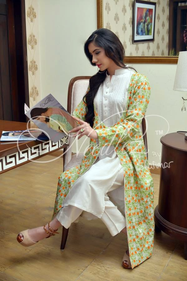 Needlez New Chiffon Dresses 2015