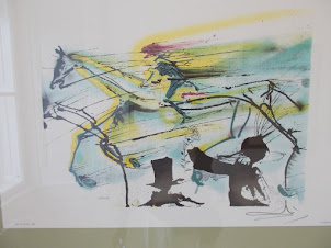 """""""The Racehorse"""" lithography by Salvador .Dali(1983)"""