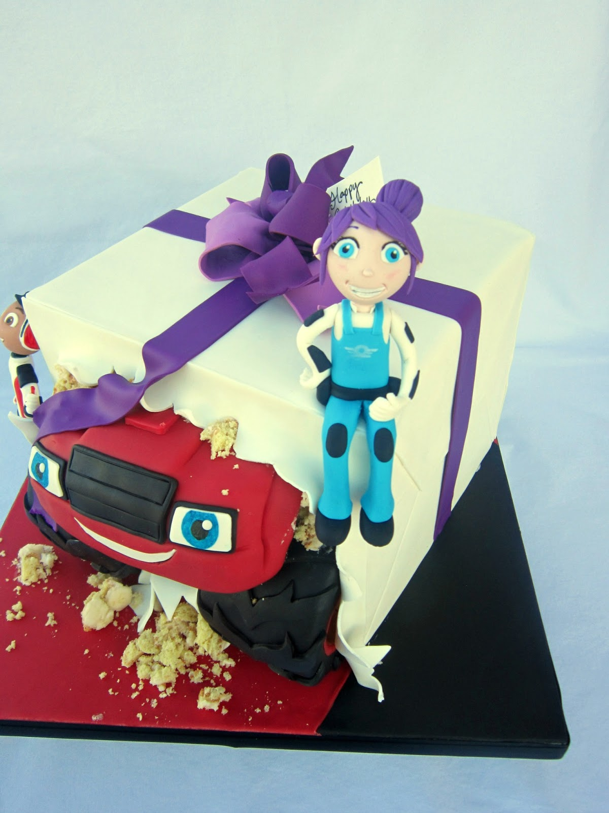 Delectable Cakes Blaze And The Monster Machines Girl