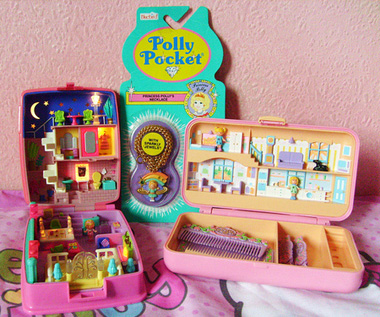 Polly pocket, polly pocket 90's