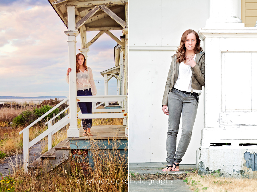 Seattle senior portraits
