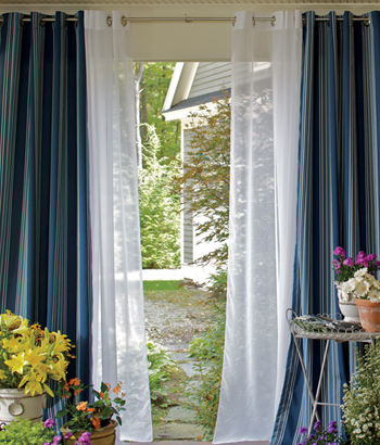 Modern Furniture: Grommet Top Curtains Designs Ideas 2012 Pictures