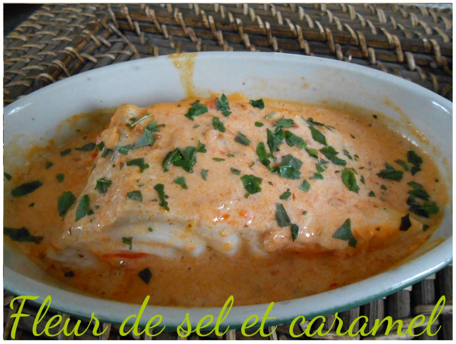 Fleur de sel et caramel dos de cabillaud sauce sacla - Cuisiner du dos de cabillaud ...