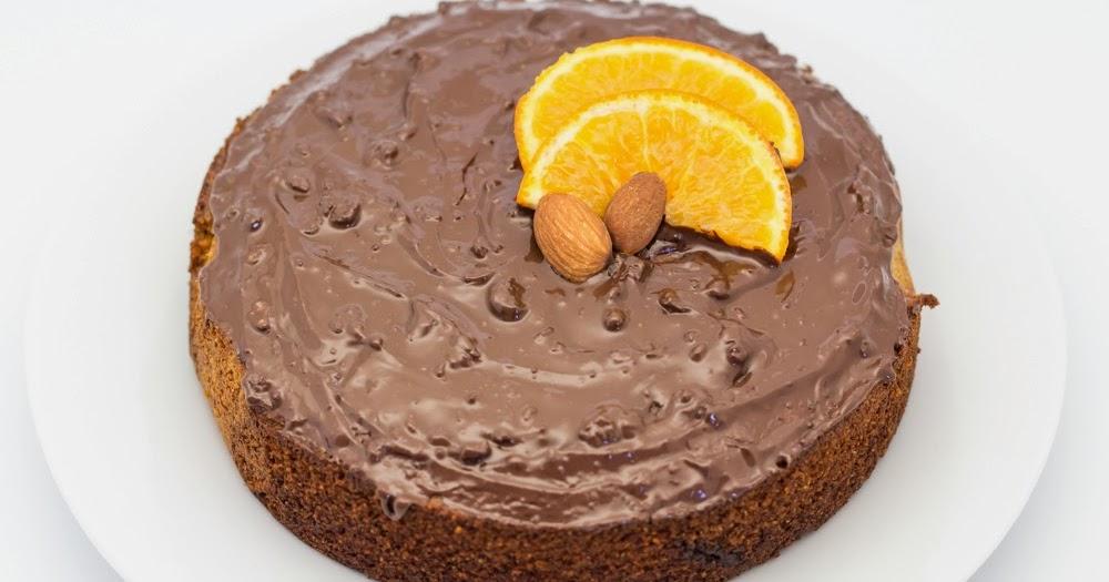 Chocolate Orange Semolina Cake