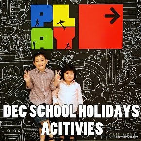 Year End School Holiday Activities