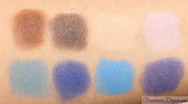 So Susan Cosmetics Liquid Powder Shadow Palette review, swatches