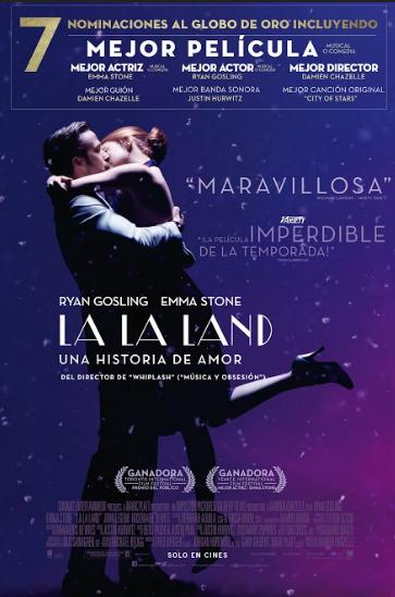 Resultado de imagen para La La Land Una Historia De Amor (2016)
