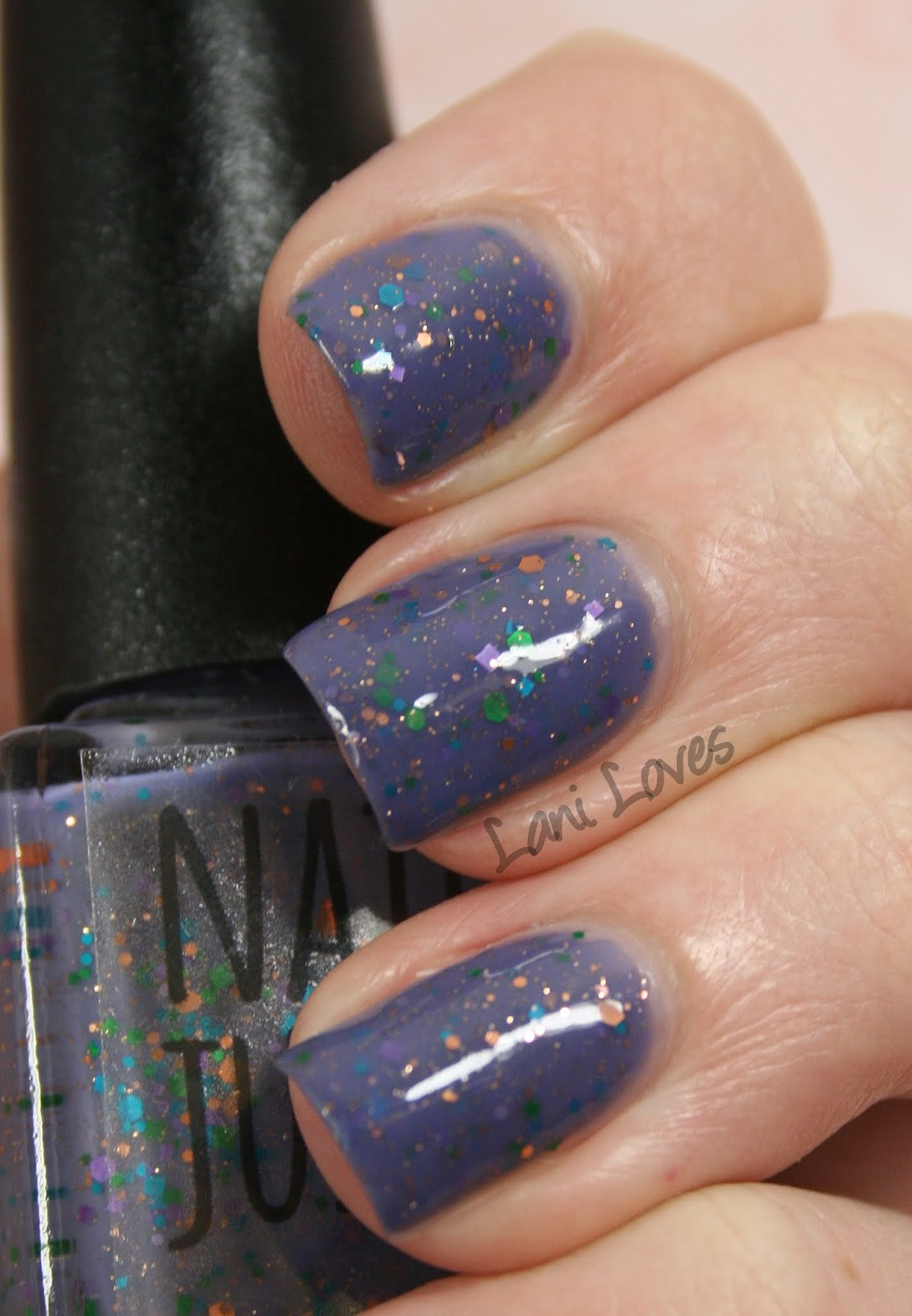 Nail Juice - Fairy Dust Nail Polish Swatches & Review