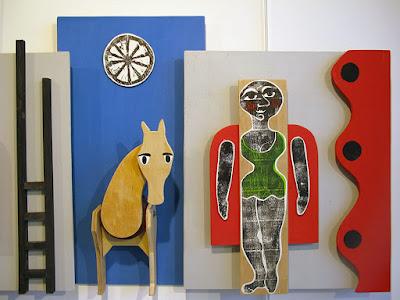 cirque, brigitte rio, cheval, exposition cirque, circus, gravure, sculpture