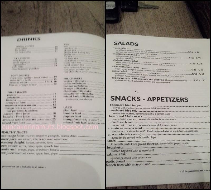Kuliner jogja via via cafe resto rina chabbymutz for Z kitchen jogja menu