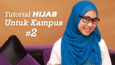 Hijab Tutorial untuk Kampus