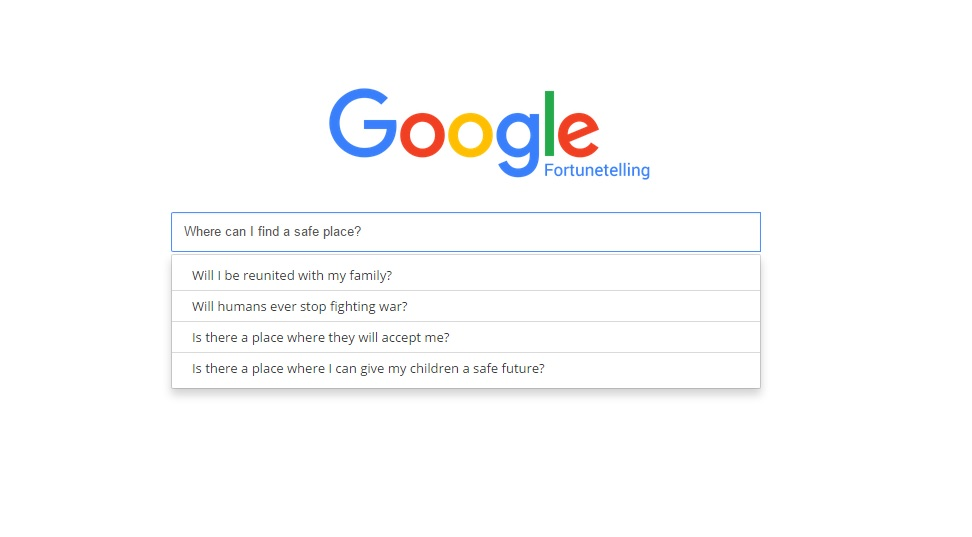 Google Fortune Telling: what does your future look like?
