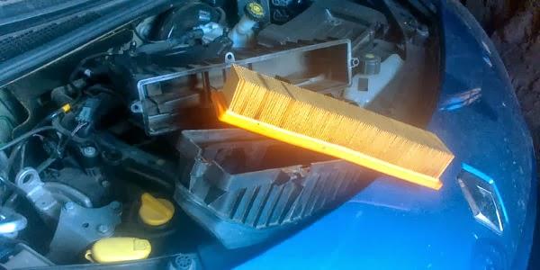 cambio filtros aire aceite